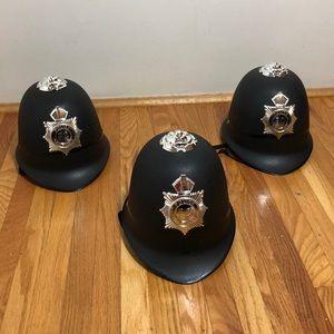 Children's Costume - 3 Police Officer Helmets